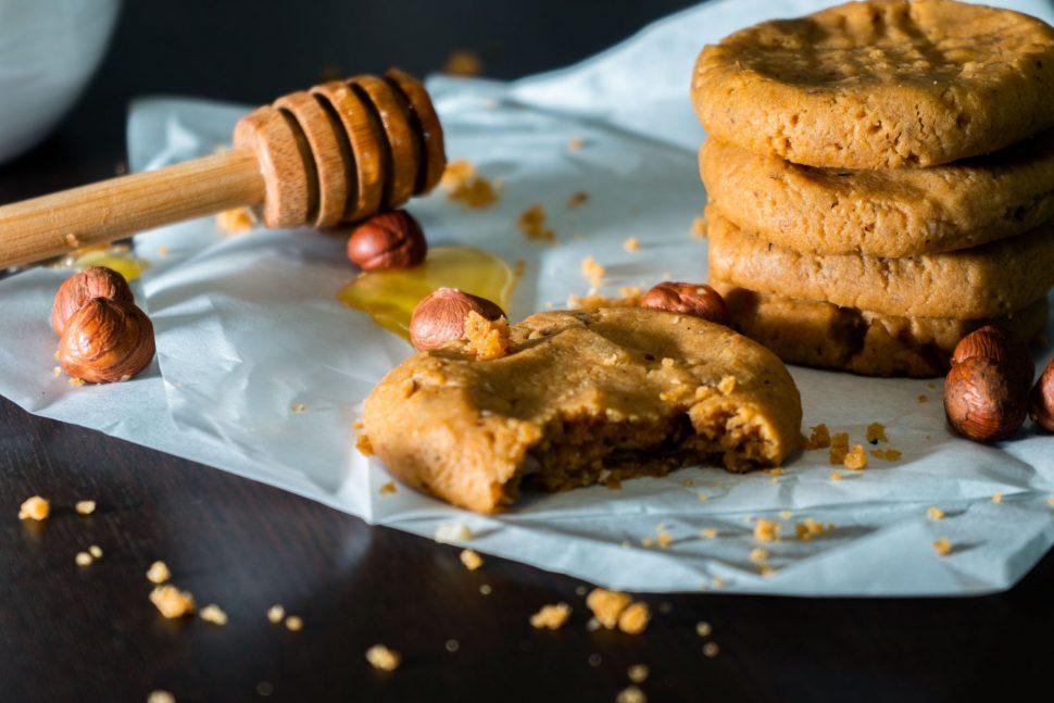 Bezlepkové cookies sarašidovým maslom