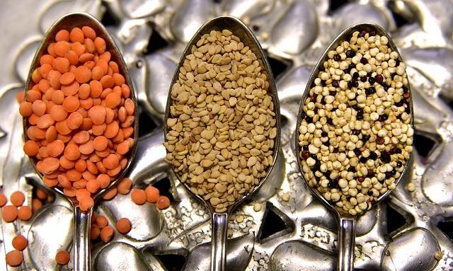 rastlinné bielkoviny, Rastlinné bielkoviny – tieto potraviny ich obsahujú najviac