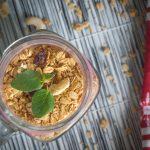 granola, Granola: pečené müsli bez pridaného cukru s poriadnou dávkou ovocia