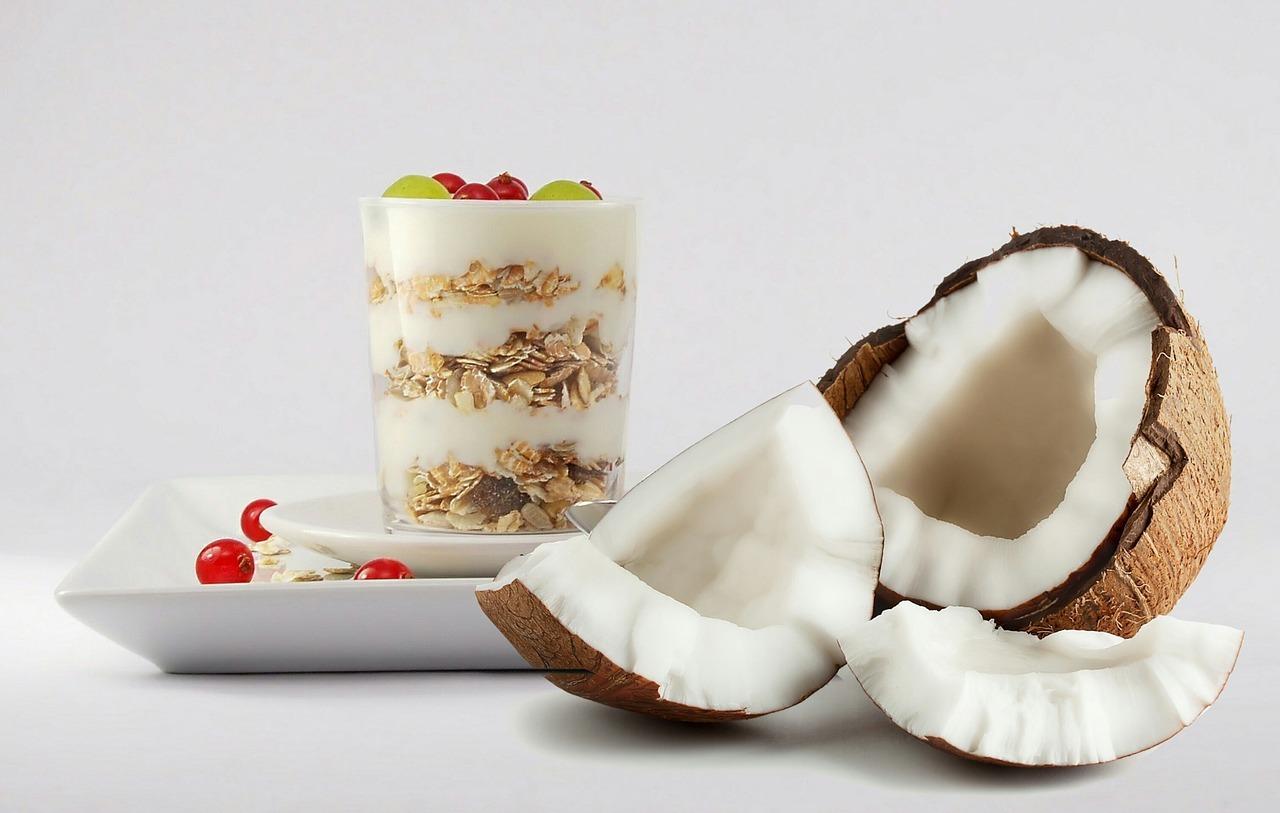 fit kokosové guličky, Fit kokosové guličky s takmer 30 g bielkovín na porciu!